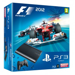 Consola PS3 Super Slim 500Gb + F1 2012 - PS3
