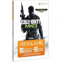 Xbox Live 12 + 2 Meses + Avatar - X360