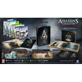 Assassins Creed 4 Black Flag Skull Edition - X360
