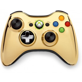 Wireles Controller Chrome Gold - X360