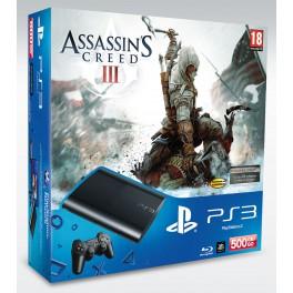 Consola PS3 Slim 500Gb + Assassins Creed 3
