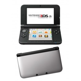Consola 3DS XL Negro y Plata