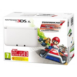 Consola 3DS XL Blanca + Mario Kart 7