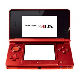 Consola 3DS Rojo Metálico - 3DS