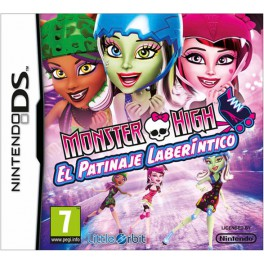 Monster High El Patinaje Laberintico - NDS