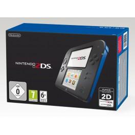 Consola 2DS Negra y Azul