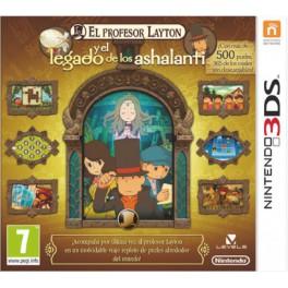 Profesor Layton y el Legado de los Ashalanti - 3DS