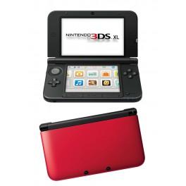 Consola 3DS XL Negro y Rojo