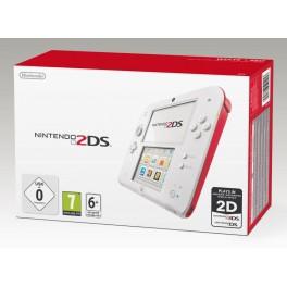 Consola 2DS Blanca y Roja