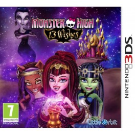 Monster High 13 Monstruo Deseos - 3DS