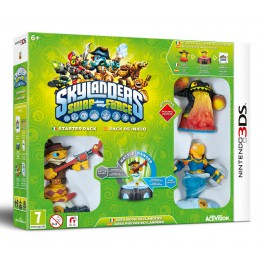Skylanders Swap Force Starter Pack - 3DS