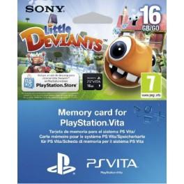 Memory Card 16GB Little Deviants - PS Vita