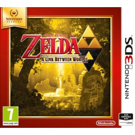 Zelda a Link Between Worlds Selects - 3DS