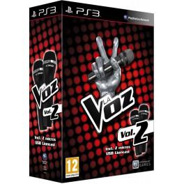 La Voz Vol. 2 + Dos Micrófonos - PS3