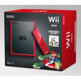 Consola Wii Mini Roja + Mario Kart