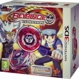 Beyblade Evolution Pack con Peonza - 3DS