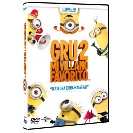 Gru, mi villano favorito 2 (Combo BR3D)